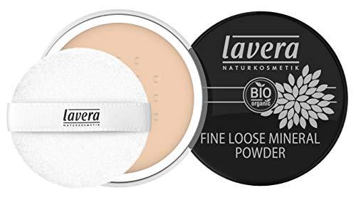 Lavera Fine Loose Mineral Powder Cipria (Tono Ivory 01) - 8 gr.