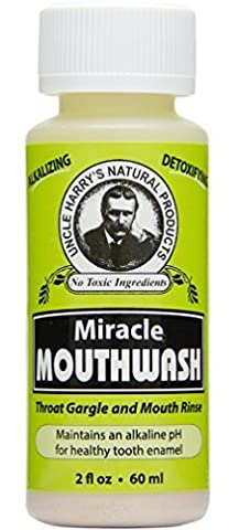 Uncle Harry's Natural Alkaline Miracle Mouthwash (2 fl oz) by Uncle Harry's Natural Products