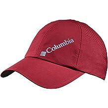 Columbia Silver Ridge Ball Cap Gorra, Hombre, Rojo (Red Element)/Azul
