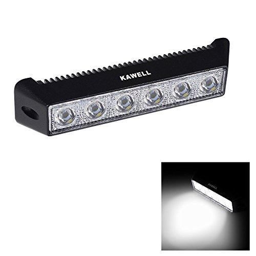 KAWELL 18W LED Arbeitsscheinwerfer Lichtleisten LED Flutlicht Arbeitslicht für Auto Tagfahrleuchten Offroad SUV Traktor