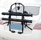LYzpf Porte Vélo Arrière Velo Stand De Stockage Hitch Transport Extérieur Portable Coffre Universel Fixation Matériel Acier