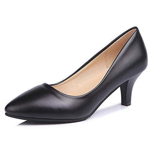 Hochzeit Schuhe Frauen niedrige Absätze Lackleder Damen Schuhe flach Mund Arbeit Pumpen auf Kitten Heels schlüpfen