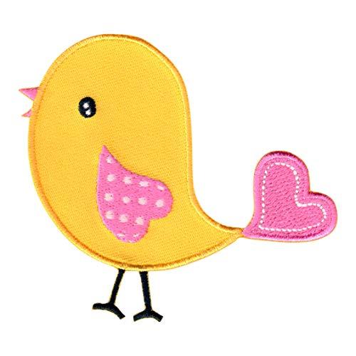 PatchMommy Pájaro Parche Termoadhesivo - Apliques Bordados para Niños