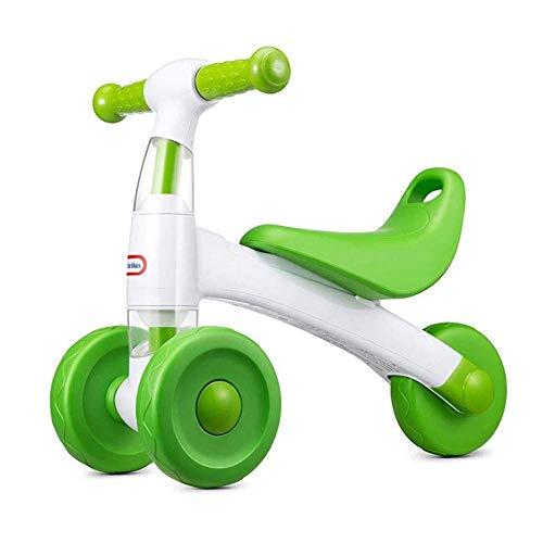 PIAOL Yo Auto Kinder Dreirad 1-3 Jahre Kinder Balance Auto Rutsche Rollen Kleinkind Für Kleinkinder Kinderwirbel Roller Für Kinder,Green
