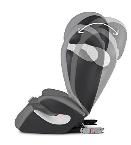 Cybex gold silla de coche para ni os solution m fix para coches con y sin isofix grupo 2 3 - Silla cybex grupo 2 3 isofix ...