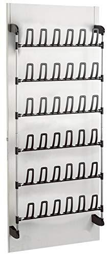 Compactor für 18 Paar Aufbewahrung und Ordnungssysteme, Metall, PVC, one Size, Epoxy Lacquered Steel | Abs, Noir, Nicht Nicht zutreffend