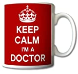 Best Doctor Mugs - Keep Calm I'm A Doctor Mug Cup Gift Review