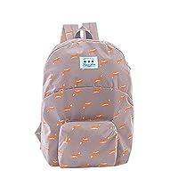 Women Girls Canvas Backpack Rucksack School Shoulder Bag Casual Daypack Satchel Penguin Fox Squirrel Prints