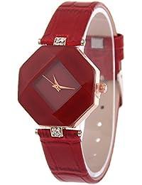 V2A Elegant Diamond Shape Design Analog Watch For Women And Girls
