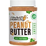 Pintola All Natural Creamy Peanut Butter, 1Kg (Unsweetened, Non-GMO, Gluten Free, Vegan)