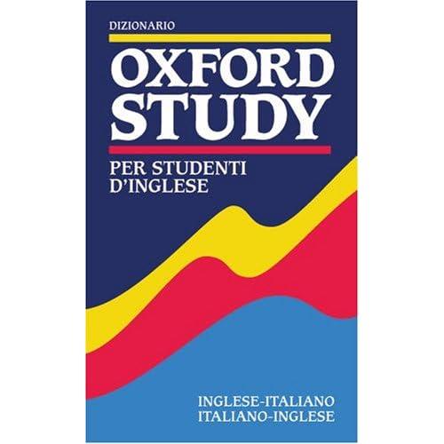 Dizionario Oxford Study Per Studenti D'inglese