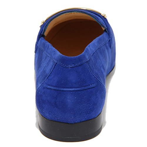 96465 mocassino TOD'S scarpa donna loafer shoes women Bluette