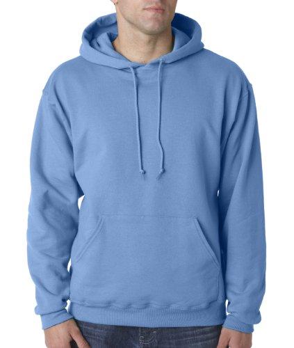 Wei§er Fu§ball auf American Apparel Fine Jersey Shirt Blau - Columbia Blue