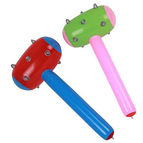 (Horrenz – 1 x großer Tetsubo Pneumatischer Hammer Globos Kinder klassisches Spielzeug Luftbälle Geburtstag Luftballons Aufblasbares Spielzeug Party rot, blau)