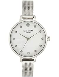 Kate Spade Analog White Dial Women's Watch-KSW1490