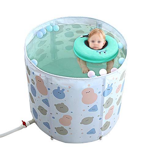 Mr.LQ Baño recién Nacido portátil de la bañera del bebé de la...