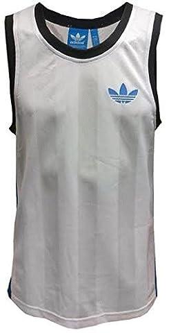 Adidas Originals Herren Unterhemden Mens Vest Tank Top Mesh Trefoil