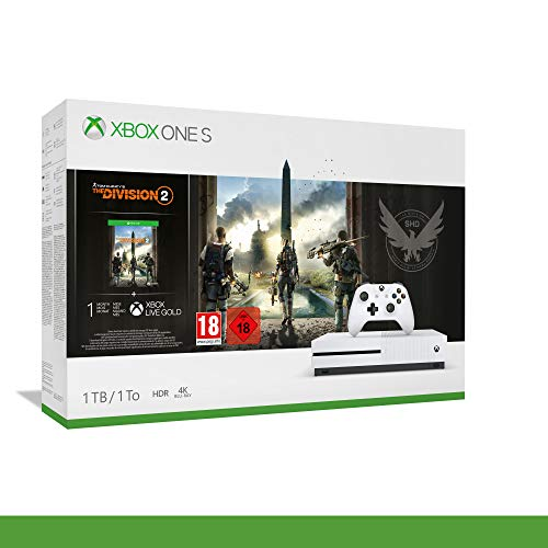 Xbox One S (1Tb) + The Division 2 [Bundle]