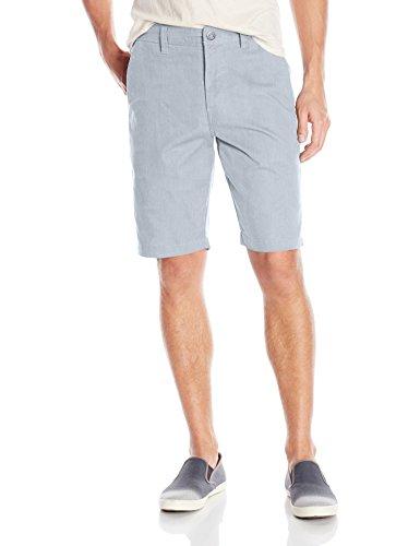 Volcom - A0911410, Shorts da uomo grigio mélange