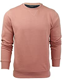 Mens Brave Soul Jones Overhead Sweatshirt V Insert Neck Pull Over Jumper