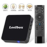 TV Box Android 8.1 - Leelbox Smart TV Box con Mando Inteligente, 2GB RAM & 16GB ROM, 4K*2K UHD H.265, HDMI, USB*2, WiFi Media Player, Android Set-Top Box