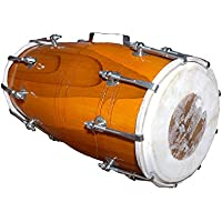 Dholak Handmade Wood Dholak Bolt-tuned, mit Tasche, Volksmusikinstrument Drum Dholak, Bulk/Wholesale also Available at Discount Price
