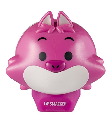 LIP SMACKER - Baume à lèvres Tsumtsum Cheshire Cat Disney - Parfum Prune - Protège et hydrate vos lèvres - Packaging mignon - Made in Los Angeles - 100% Cruelty Free