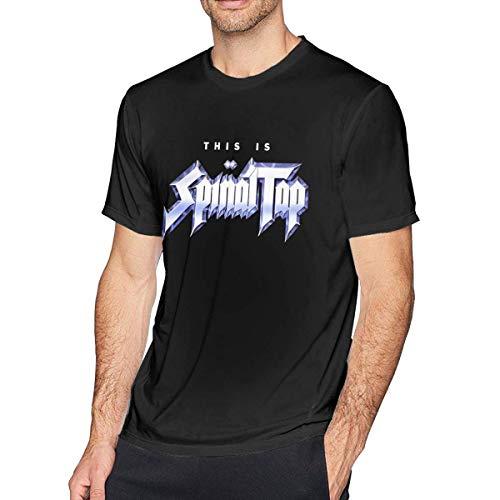 CINDYO Hemden Men's Spinal Tap Fashion T-Shirt Combed Cotton Tee T-Shirt Top (Spinal Shirt T Tap)