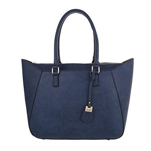 Taschen Handtasche Dunkelblau