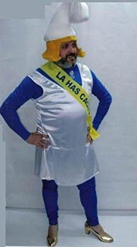 Imagen de disfraz despedida de soltero de pitufina