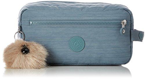 Kipling AGOT Bolsa de aseo, 26 cm, 3 liters, Azul (Dazz Soft Aloe)