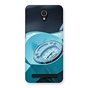 Delighted Scooter Meter Multicolor Back Case Cover for Zenfone Go