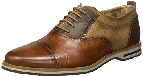 Lloyd Denton, Chaussures à Lacets Homme, 6œ Marron - Braun (REH/SAND/TRENCH 4)