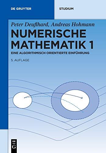 Numerische Mathematik 1: Eine algorithmisch orientierte Einführung (De Gruyter Studium, Band 1)