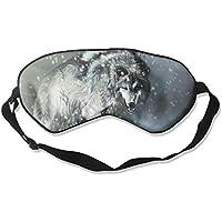 Eye Mask Eyeshade Hungry Wolf Snow Night Sleep Mask Blindfold Eyepatch Adjustable Head Strap preisvergleich bei billige-tabletten.eu