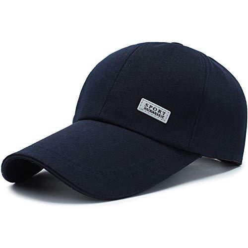 Preisvergleich Produktbild shunlidas Hüte Dekorationen Fischerhutbaseballmütze Verlängert Traufe Frauen Koreanische Version Von Baishou,  Night Cursor - Saphirblau,  Einstellbar