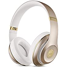 Apple Beats Studio Circumaural Diadema - Auriculares (Circumaural, Diadema, Bluetooth, Oro, 20 - 20000 Hz, Inalámbrico)