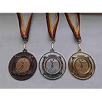 Beachvolley Pokal Kids 20 x Medaillen Deutschland-Band Turnier Emblem Volleyball Pokale & Preise