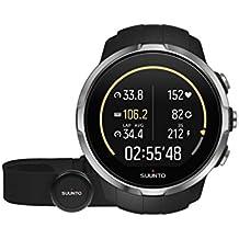 Suunto Spartan Sport HR - Reloj GPS para Atletas Multideporte, 10 h Batería, Resistente al agua, Monitor Frecuencia Cardiaca + Cinturón FC, Pantalla Táctil en Color, Negro, SS022648000