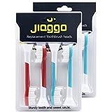 Jiaggo Têtes de Brosse à dents de Rechange pour Philips Sonicare Brosse à Dents Electrique pour Enfants