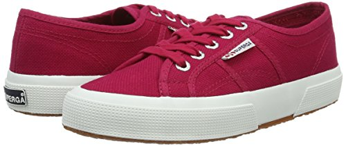 Superga 2750 Cotu Classic, Montantes Mixte Adulte - Rouge - Rot (Red-Cerise), 41 EU
