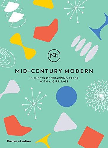 Mid-Century Modern: Giftwrapping Paper Book par Frances Ambler