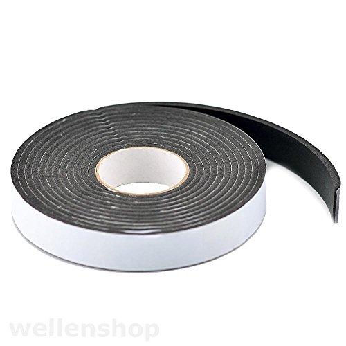 3m Neoprendichtband Kompriband Fugendichtung Türdichtung 19mm x 3mm