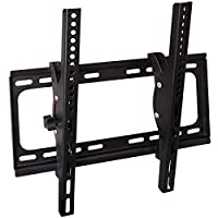 Aewio TV Wall Mount Fit for Most 26-55 Inch LED LCD Flat Screen TV up to VESA 400x400mm and 99lbs Loading Capacity with Tilting and Leveling Adjustment (Fit for 26-55 Inch Flat Screen TV)