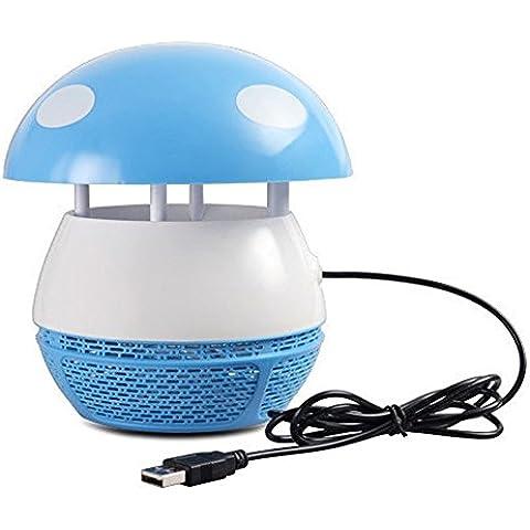 USB Indoor antiparassitari, emwel LED proiettore eingeatmet Mosquito Killer per Home interno senza radiazione, Mute, adatto per le donne in gravidanza e neonati