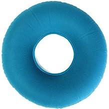 Cojín en forma de anillo hinchable, risingmed médica hemorroides almohada, cojín de asiento redondo de goma, para el coxis y coxis dolor | ideal para sillas de ruedas