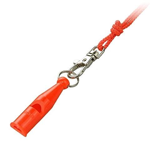 ACME Hunting Gun Dog Training 212 Whistle and Lanyard - Orange