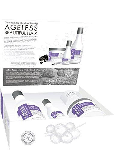 btoxx-HairToxx made in brazil -Coffret luxe Botoxx capillaire format professionnel pour cheveux abimés - composé d'ACAI du brésil et d'acide hyaluronic - shampoing 1000ml + masque 1000ml + serum 300ml