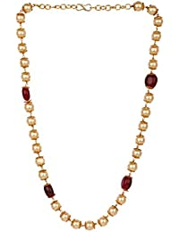 Efulgenz Stylish Trendy Fancy Party Wear Pearl Beaded Mala Style Chain  Necklace Jewellery for Women Girls 919211a069