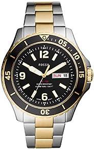 FOSSIL Men's Stainless Steel Quartz Watch FS